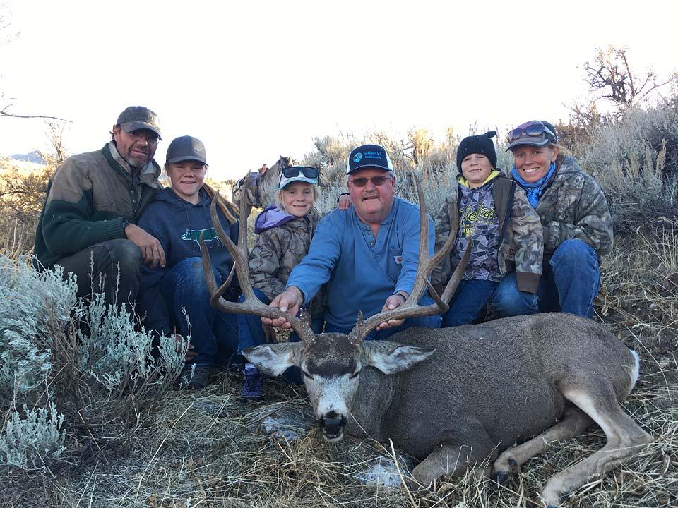 Nevada High Desert Outfitters - Mule Deer, Elk, Antelope