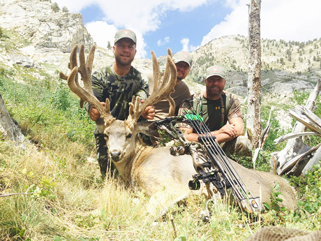 Nevada Mule Deer Hunts with Nevada High Desert Outfitters